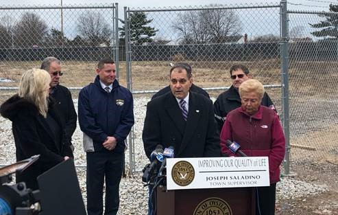 Town Announces Environmental Remediation Initiative at Contaminated Bethpage Community Park Ballfield