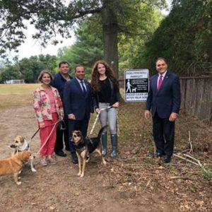 Town Unveils New Dog-Friendly Neighborhood Parks