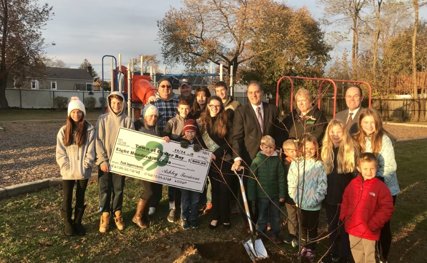 Girl Scout Presents Donation and Unveils Local Park Improvements in Pursuit of Gold Award Project