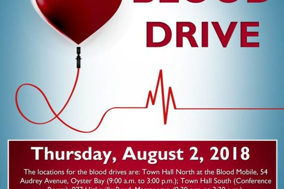 Saladino, Muscarella Urge Residents to Help Fulfill Blood Shortage by Donating on August 2nd