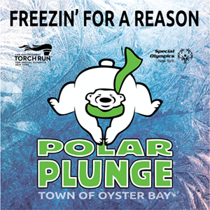 Special Olympics, Town of Oyster Bay Join Forces for Annual Polar Plunge at Tobay Beach