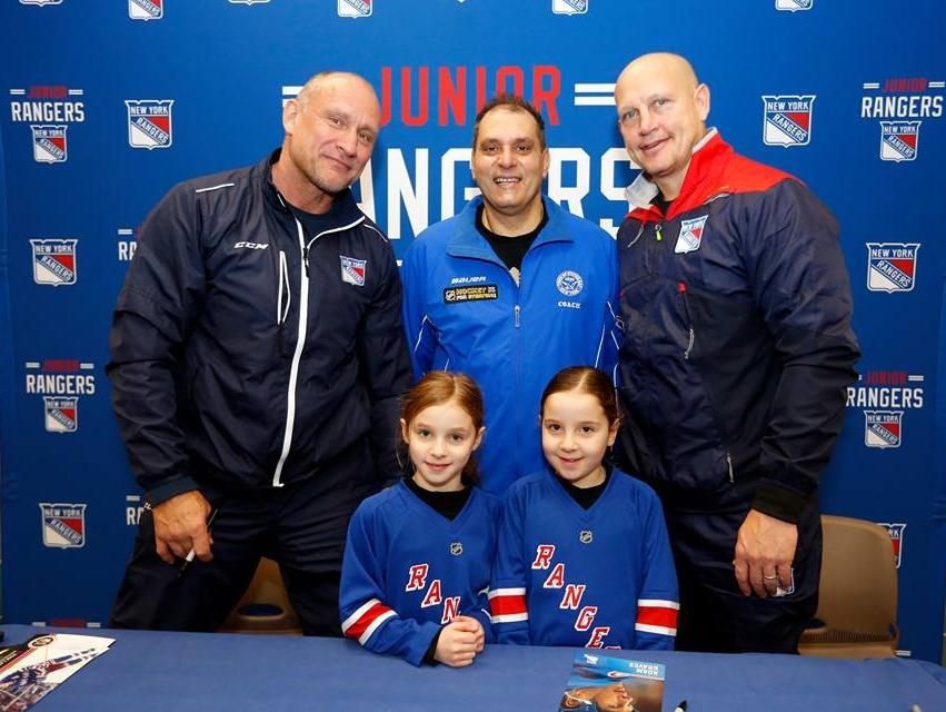 Saladino and NY Rangers Announce Try-Hockey-for-Free Program