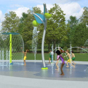 Upgraded Spray Park New Marina Playground Coming Soon to TOBAY Beach this Summer