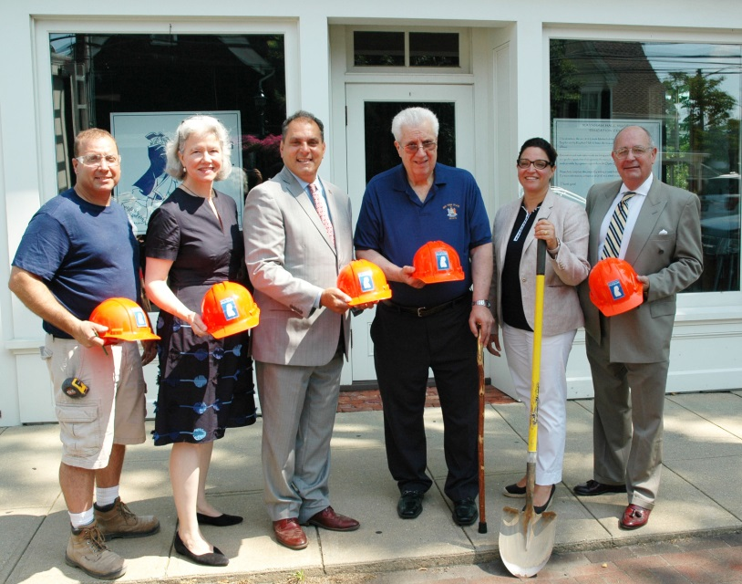 Town Breaks Ground at New Education Annex at Historic Raynham Hall