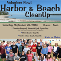 Fall 2014 Harbor & Beach Cleanup Day slider