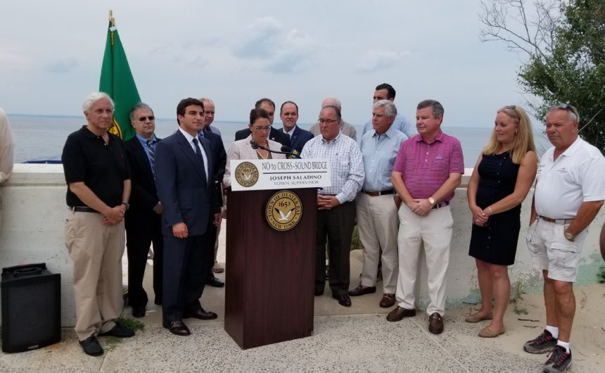 Saladino, Johnson, Local Town and Village Officials Unite with Community Leaders in Opposition to Cross Sound Bridge or Tunnel