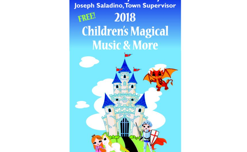 Saladino and Muscarella Announce Free Children's Shows At Local Libraries for 2018