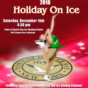 Saladino, Town Board Announce Free Holiday on Ice Performance on December 15th
