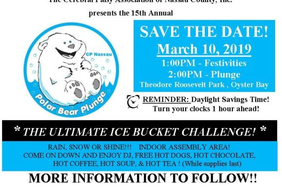 Saladino Invites Residents to Polar Plunge in Support of the Cerebral Palsy Association