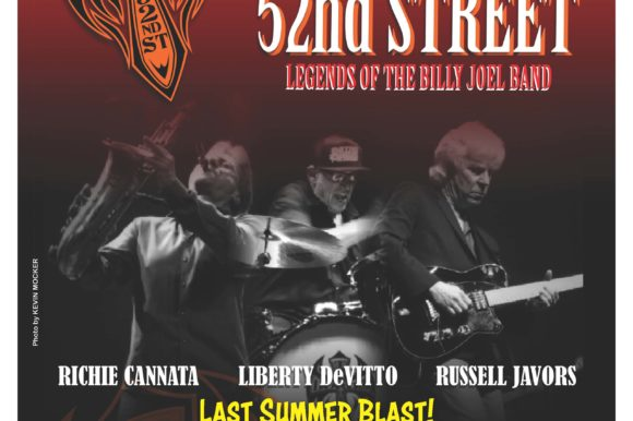 'One Last Summer Blast' Concert with The Lords of 52nd Street on Saturday, September 18th