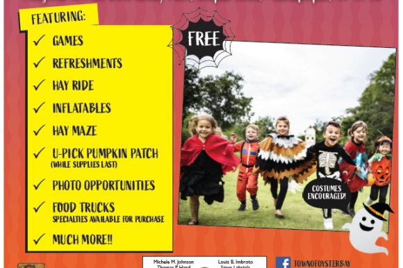 Saladino Invites Residents to Free Family Fall & Halloween Festival