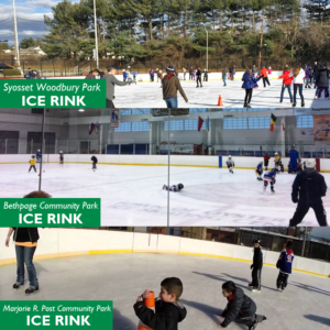Town Outdoor Ice Skating Rinks Open November 29th