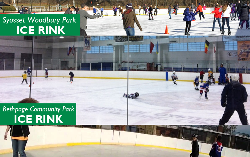 Town Outdoor Ice Skating Rinks Now Open