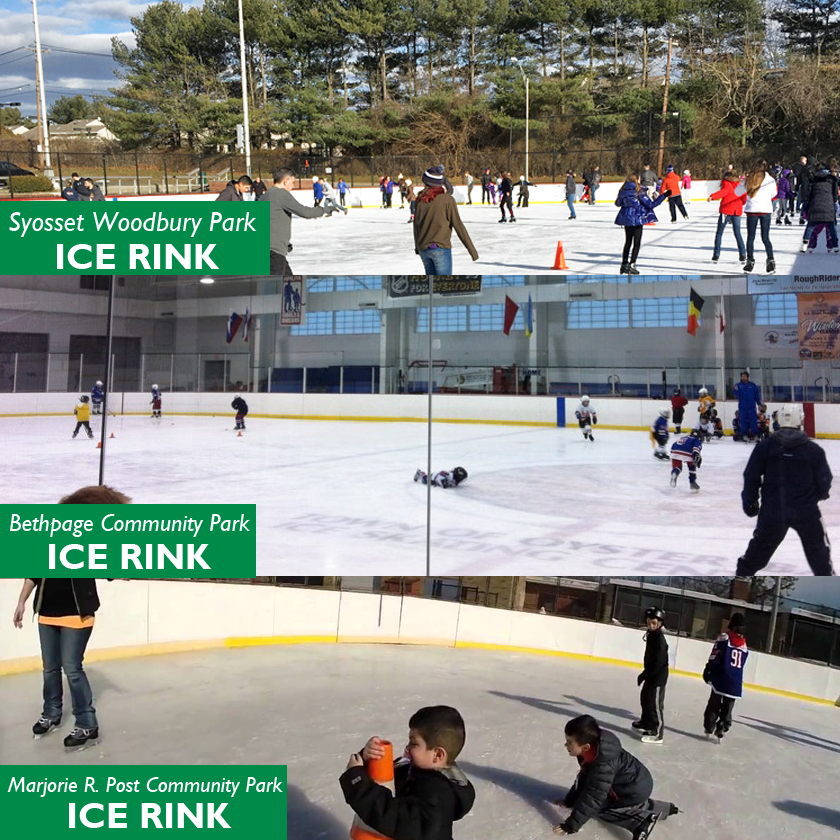 Town Announces Public Skating Sessions for Martin Luther King Holiday