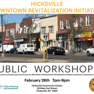 Hicksville Downtown Revitalization Initiative
