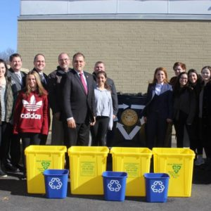Saladino & Hand Bring Single Stream Recycling Program to Local School Districts