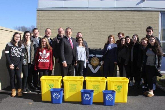 Saladino & Hand Bring Single Stream Recycling Program to Local School Districts