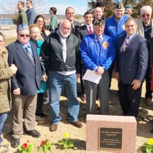 Western Waterfront Pier Dedicated in Remembrance of Highly-Decorated Fallen Vietnam War Hero
