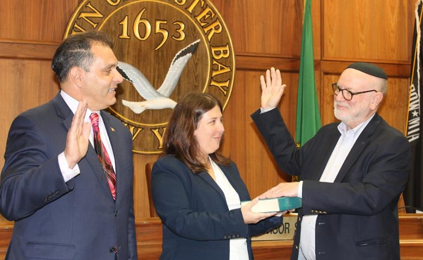 Saladino, Town Board Appoint Rabbi Rank of Syosset to Board of Ethics