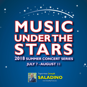 Saladino Announces 2018 Free Summer Concert Series