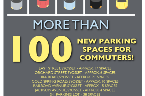 Saladino, Alesia, Hand Increase Commuter Parking Availability in Syosset