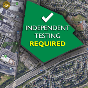 Saladino: Independent Testing in Syosset Must Commence Prior to Development