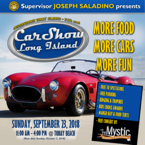 Car Show LI returns this Sunday at TOBAY Beach