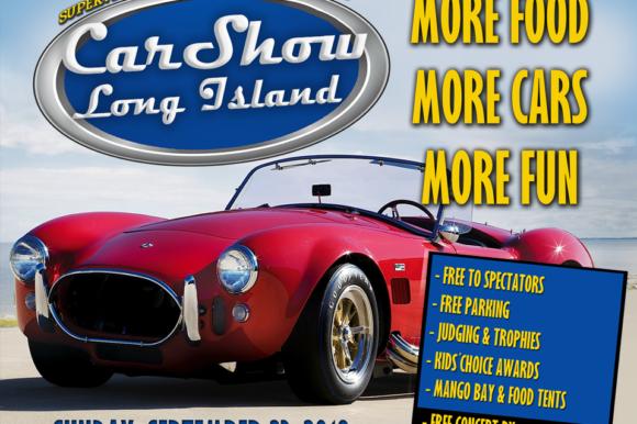 Car Show LI returns this Sunday at TOBAY Beach