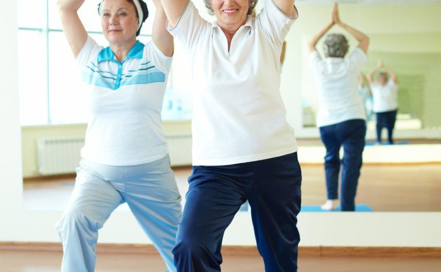 Saladino, Johnson Announce Free February Senior Citizen Yoga Classes