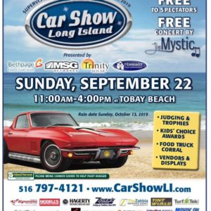 Saladino Announces Car Show Long Island TOBAY Fall Classic on September 22nd