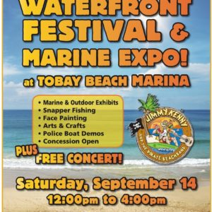 Saladino Announces Free Family-Fun Waterfront Festival  Marine Expo at TOBAY Marina