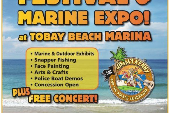 Saladino Announces Free Family-Fun Waterfront Festival  Marine Expo at TOBAY Marina