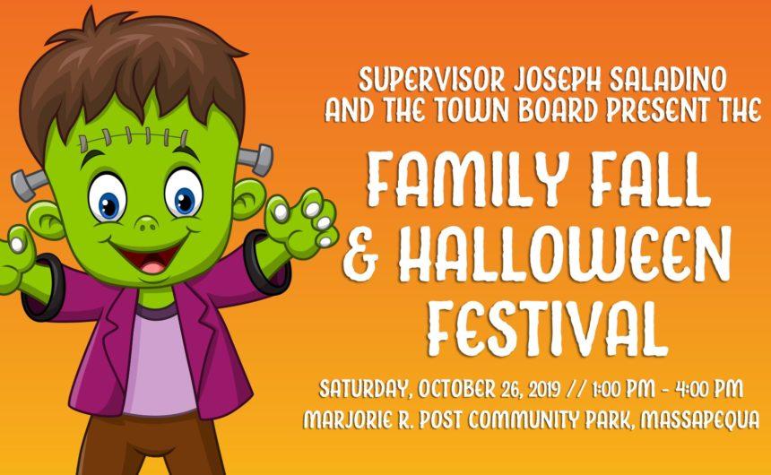Saladino Invites Residents to Free Family Fall Halloween Festival
