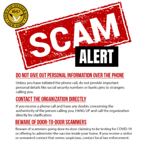 Councilwoman Maier Cautions Residents Not to Fall Victim to Phone Scams