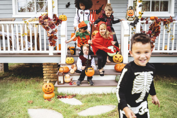 Saladino, Johnson Urge Halloween Safety for Trick-or-Treaters