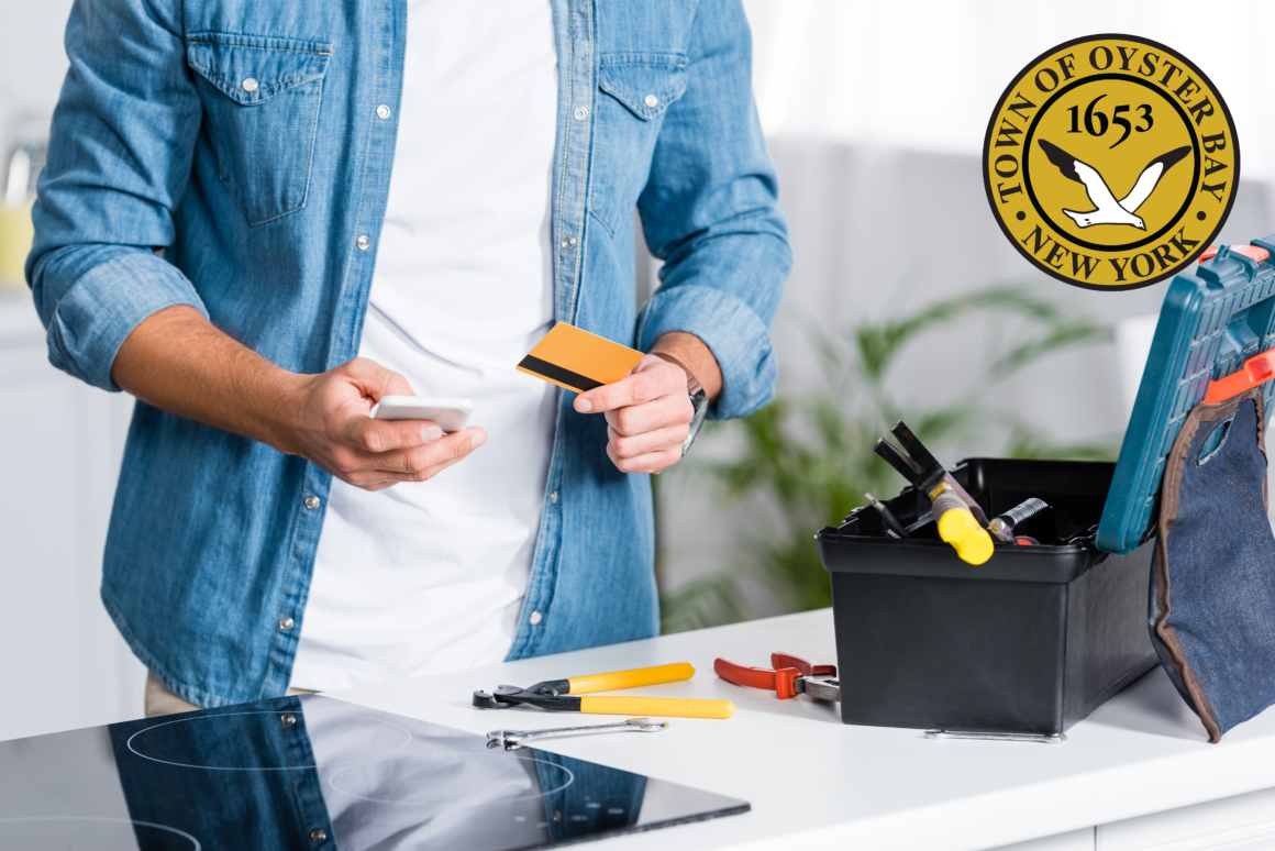 Town Now Accepts Credit Cards to Ease the Building Permit Process for Homeowners and Businesses