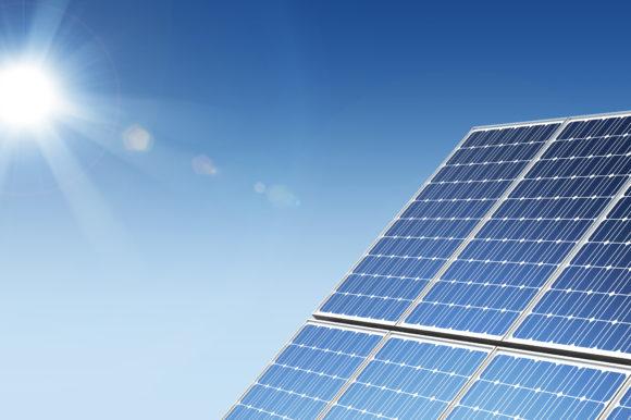 Solar Lighting on Hicksville Parking Garage Reduces Carbon Footprint