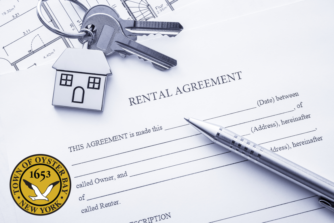 Attention Renters and Landlords Apply Today for Grants Provided by Congress to the Town of Oyster Bay