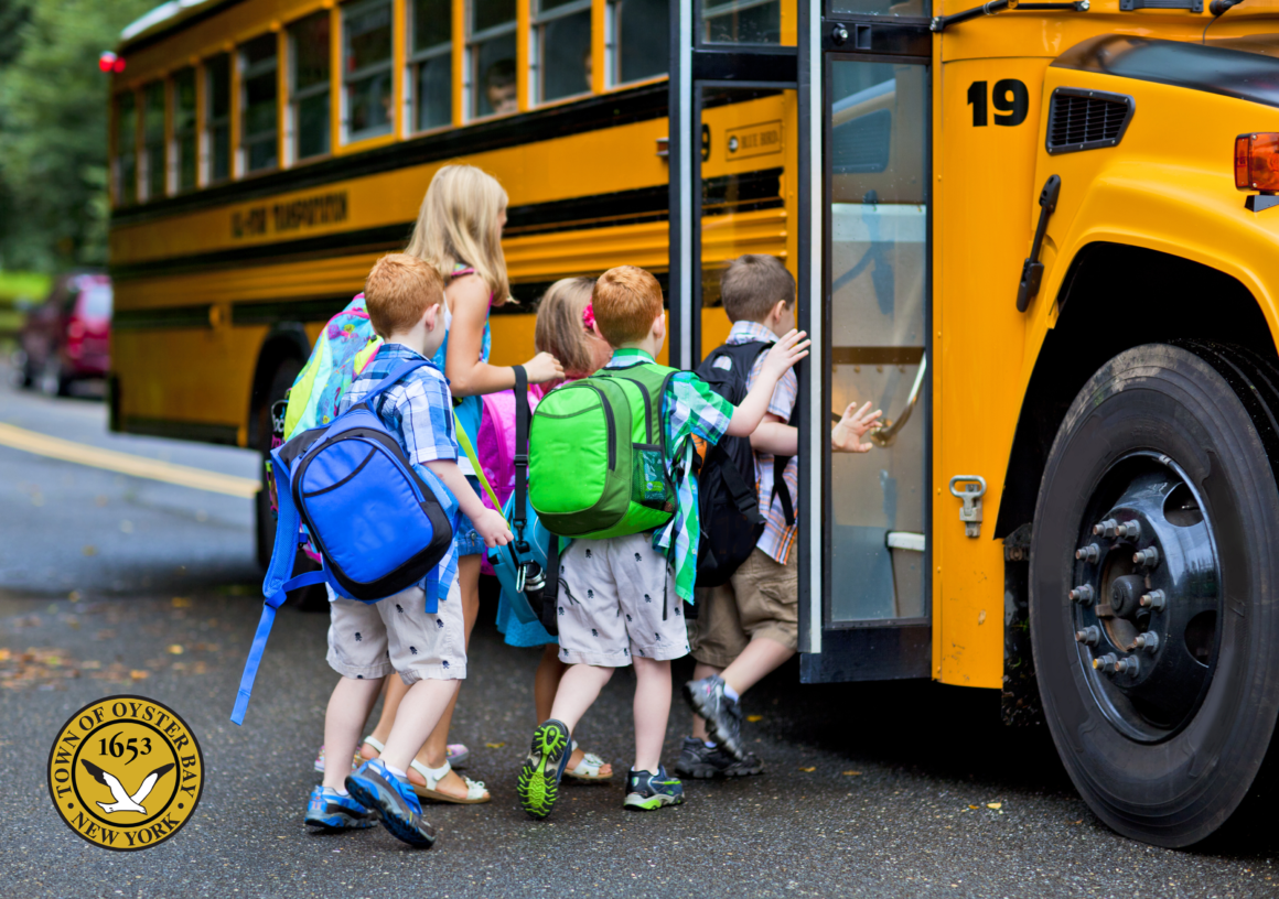 Saladino and Labriola Announce 'Safe Routes to School' Initiative for Downtown Oyster Bay