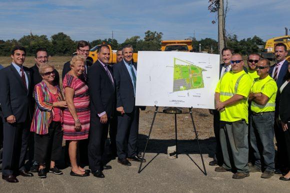 Ellsworth Allen Park Expansion Underway in Farmingdale
