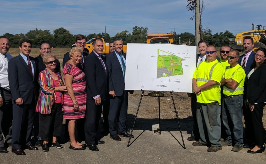 Ellsworth Allen Park Expansion Underway in Farmingdale