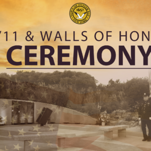Town to Host 9/11 & Walls of Honor Remembrance Ceremony September 9th
