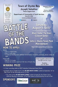 "Entry Deadline Extended to June 14th for TOB ""Battle of the Bands"" Competition"