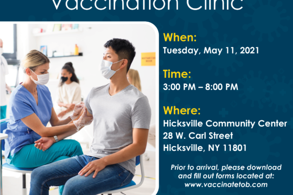 Town Offers Free Walk-up Moderna Vaccination Clinic to Residents in May