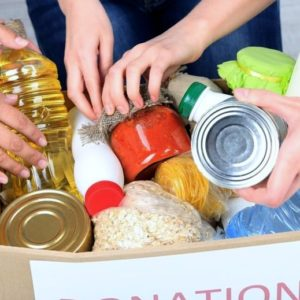 Saladino, Hand Announce 'Helping Through the Holidays' Food Drive