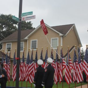 Saladino, Johnson, Imbroto, Hand, and Altadonna  Dedicate Bethpage Street in Honor of Fallen FDNY Firefighter William N. Tolley