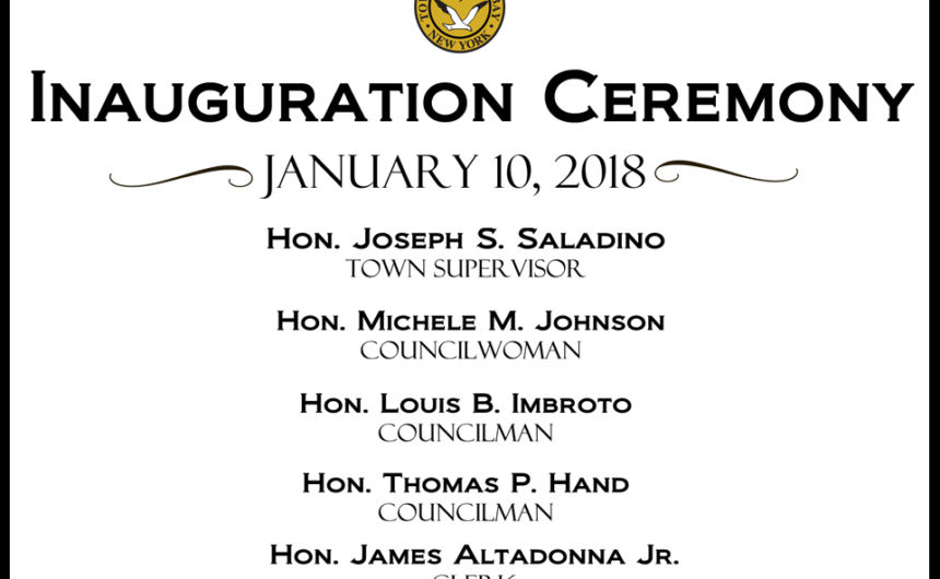 2018 Inauguration Ceremony