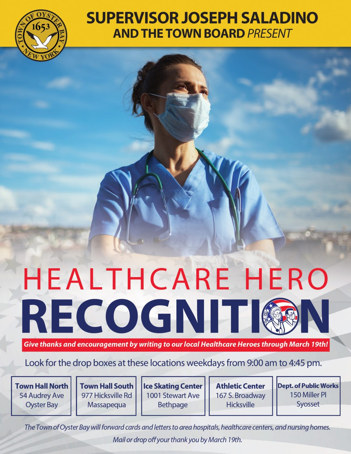 Town Launches Healthcare Heroes Recognition Program