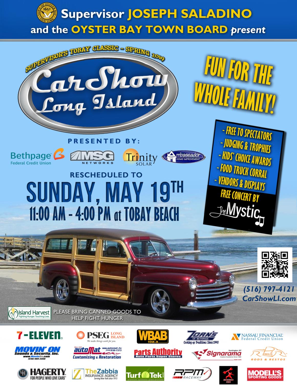 Car Show LI RESCHEDULED May 19th RAINDATE