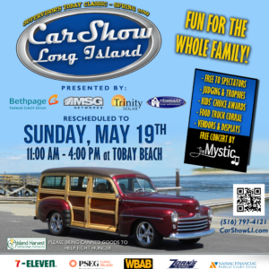 Car Show LI RESCHEDULED May 19th RAINDATE